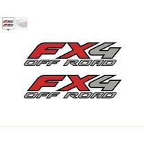 Sticker Vinil Fx4 Off Road Ford F-150/250/350 Ranger