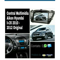 Central Multimidia Hyundai Ix35 2010/2012 Original