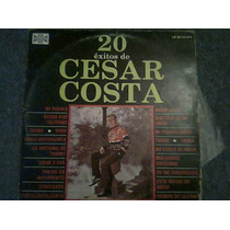 Disco Acetato De Cesar Costa