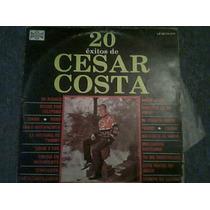 Disco Acetato De Cesar Costa