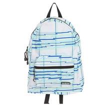 Hot Topic Mochila Yak Pak White Lightning Plaid Backpack
