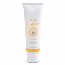 Protector Solar En Crema Aloe Sunscreen Fps 30