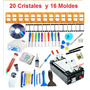 Kit Maquina Separadora Lcd Touch 20 Cristales Y 16 Moldes<br><strong class='ch-price reputation-tooltip-price'>$ 4,999<sup>00</sup></strong>