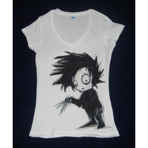 Blusa Camiseta Edward Scissorhands Joven Manos De Tijera Tim