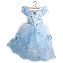 Vestido La Cenicienta Original Importado Disney Store Usa