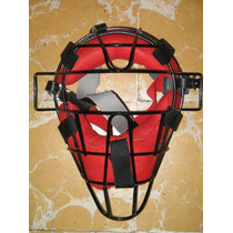 Careta Catcher Adulto Roja Proline