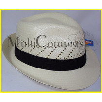 Elegante Sombrero Borsalino Vogue Color Natural Morcon Toyo