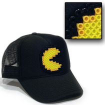 Gorras De Pixeles Retro Mario Bros Pacman Space Invaders