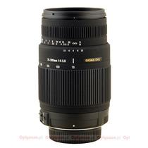 Lente Sigma 70-300mm F4-5.6 Para Canon Envio Gratis