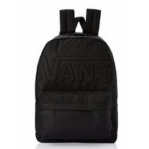 Mochila Backpack Vans Old Skool Black Black Vn0qhrbka