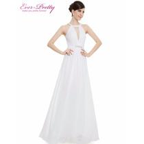 Vestido Longo Branco/noiva/casamento/civil/trash The Dress