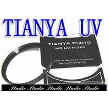 Tianya Filtro Uv 52mm Ultra -violeta Lente Protector