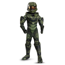 Disfraz Halo Master Chief Niño Halloween Version Lujo