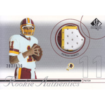 2002 Sp Authentic 3color Jersey Rookie Patrick Ramsey Qb 850
