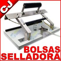 Maquina Manual 30cm Selladora De Bolsas Plastico Celofan Etc