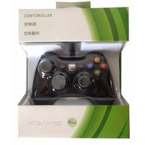 Controle Xbox 360 Com Fio Compativel No Pc - Pronta Entrega