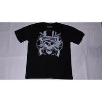 Camiseta Rock Guns N Roses Caveira