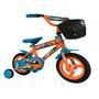 Bicicleta Niño Hotweels Canasto Rod 16 Rueditas 4a6 Años