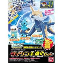 Pokemon Oshawott Dewott Samurott Evolution Set Bandai Omm