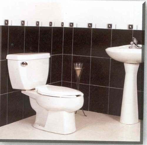 Maa paquete sanitario alargado marfil wc ba o 2 625 - Precios de sanitarios de bano ...