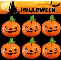 Halloween Calabaza Inflable Dia De Muertos Decoración Adorno