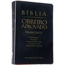 Biblia Do Obreiro Aprovado Com Harpa Dicionario Joao Ferreir