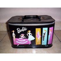 Barbie Ponytail Caja Maletin De Vinyl Mattel Año 1961 +++