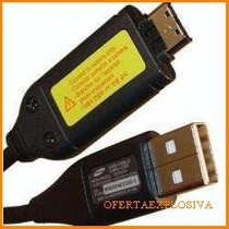 Cable Usb Original Samsung Para Camara Digital Pl100 Pl101