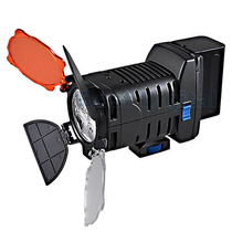 Lampara De Leds Para Videocamara Recargable Bateria Cargador