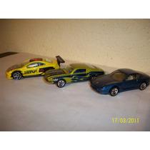 Hot Wheels Lote De 2 Coches Ferrari 456m Ford Shelby ´68
