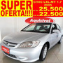 Honda - Civic Sedan Lxl-mt 1.7 16v 4p