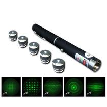Caneta Laser Profissional Resistente C/ Estojo 5 Efeitos