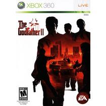 Jogo Usado Original The Godfather Ii Poderos Chefão Xbox 360