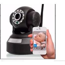 Câmera Segurança Vigilância Monitoramento Wifi Via Internet