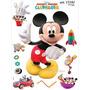 Wall Stickers Autoadhesivo Disney Mickey 32 X 50cm Fundasoul