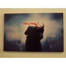 Cuadros Arte Digital - Why So Serious??? - The Joker - 19x25
