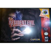 Solo Caja Juego Resident Evil 2 Nintendo 64