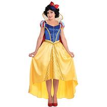 Disfraz Princesa Blanca Nieves De Lujo Adulto Disney Mujer