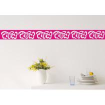 Faixa Decorativa Border Para Cozinha - Banheiro Adesivos