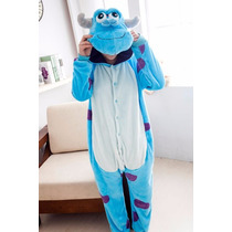 Monster Sully Kigurumi Pijamas Kawaii Japonesa Anime Cosplay