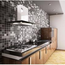 Papel De Parede 3d Para Cozinha Banheiro Pastilhas Adesivo