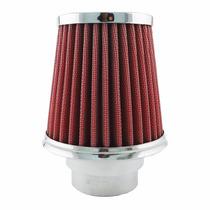 Filtro Cônico C/ Tecido Filtrante 12 Cm Altura - Vermelho