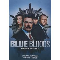 Blue Bloods Codigos De Familia Temporada 4 Cuatro Serie Dvd