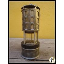 Antiga E Rara Lamparina Luminária Naútica Americana Koehler