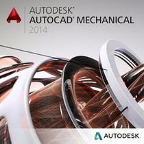 Autocad Mechanical 2014 Professional Licencia 1 Pc 32/64 Bit
