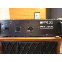 Potencia Wattson/ciclotron Dbs-1500