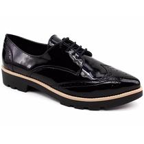 Sapato Feminino Oxford Zabumba 12003559 Loja Pixolé