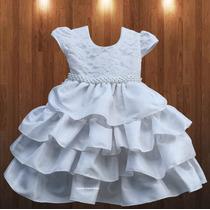 Vestido De Festa Luxo Ano Novo Reveillon Princesa E Tiara