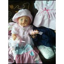 Boneca Baby Born Enxoval Completo