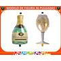 Globos Metalizados Figura Botella Y Copa